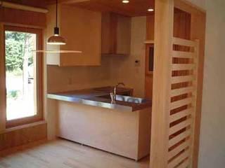 青山高原の家 モダンな キッチン の エムカーヴェー一級建築士事務所 モダン