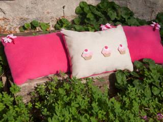Pink Cupcake 3'lü Yastık Set fingerscrossed Akdeniz