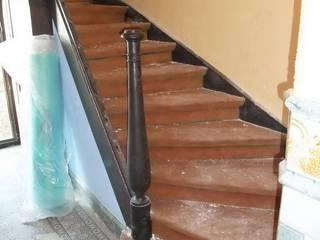 Donner des couleurs à votre escalier. par Artisans @rt Déco Sprl.