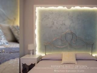 Romantic Rusty: Soggiorno in stile  di Rachele Biancalani Studio