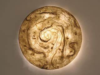Wall lamp made of Silk chiffon di Judith Byberg Scandinavo