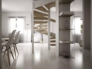 Interior Visualization: Ingresso & Corridoio in stile  di 3DCanva
