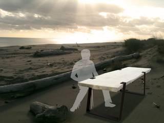 tables en bois flotté:  de style  par deco-nature