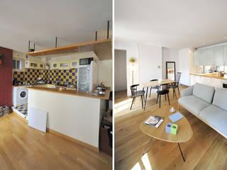 Appartement 2 pièces 45m2:  de style  par Créateurs d'interieur