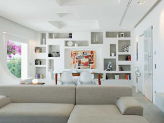 mediterranean Living room by DEFPOINT STUDIO   architettura  &  interni