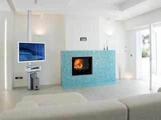 DEFPOINT STUDIO architettura & interni Salones mediterráneos