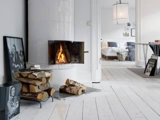 Alvhem Mäkleri & Interiör Scandinavian style living room by Magdalena Kosidlo Scandinavian