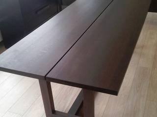 Räuchereiche Tisch mit Gestell :   von Hugo Kämpf GmbH