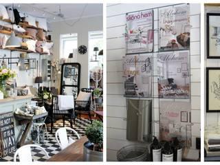 Alvhem Mäkleri & Interiör - shop and magazine Scandinavian style living room by Magdalena Kosidlo Scandinavian