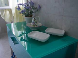 Cubic bathroom: Bagno in stile  di Arreda Progetta di Alice Bambini