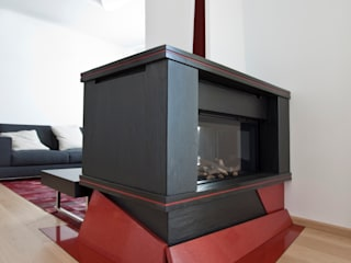 Casa LM Laboratorio di Progettazione Claudio Criscione Design SoggiornoCamini & Accessori