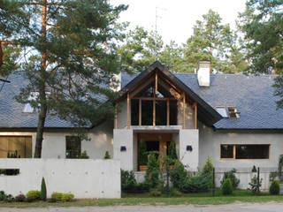 Dom Olsztyn Nowoczesne domy od CAA ARCHITEKCI Nowoczesny