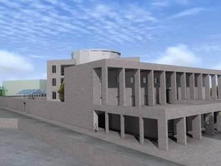 "efficient energy buildings ""una biblioteca per catania"":  in stile  di Archisolving, soluzioni d'architettura NZEB"