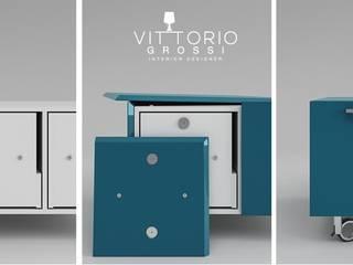 Sistema di aggancio scocche:  in stile  di Vittorio Grossi Designer