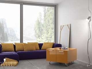 Be_Cube giallo:  in stile  di Vittorio Grossi Designer