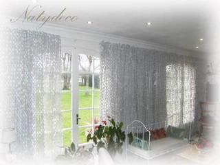 rideau de camouflage blanc:  de style  par Natydeco