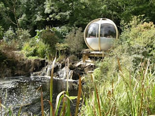 "The ""Sphere"" has landed Kevin Cooper Garden Design 庭院"