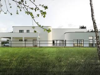 Dom : Willa: styl , w kategorii Domy zaprojektowany przez Libido Architekci