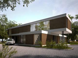 casa Kz: Casas de estilo  por nisen s.a.