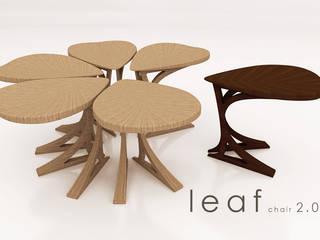 Leaf Chair di Architettura Creativa_architecture and Interior design Scandinavo