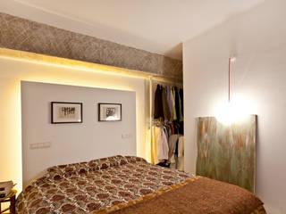Reforma de apartamento en Palma de Mallorca Dormitorios de estilo industrial de Joan Miquel Segui Arquitecte Industrial