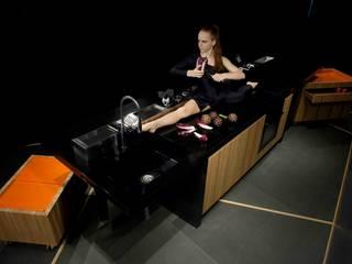 PiGreco Kitchen: Cucina in stile in stile Eclettico di CORAZZOLLA SRL - Arredamenti su Misura