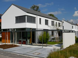 Casas de estilo minimalista de Herzog-Architektur Minimalista