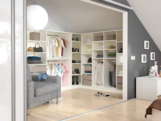 Modern Dressing Room by homify Modern Wood Wood effect