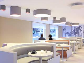 HOTEL THE GREY - Frühstücksraum:  Hotels von EBEN ARCHITEKTUR FRANKFURT MANNHEIM