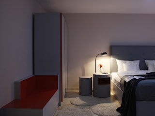 HOTEL THE GREY - Zimmer:  Hotels von EBEN ARCHITEKTUR FRANKFURT MANNHEIM