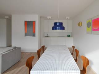 WOHNUNG HOL - Ess- und Kochbereich: moderne Häuser von EBEN ARCHITEKTUR FRANKFURT MANNHEIM