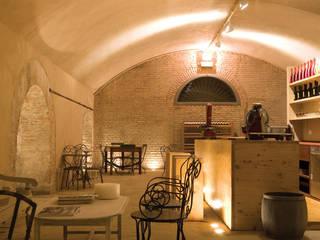 Cantina di Lispida Gastronomia in stile rurale di Studio15 Design Rurale