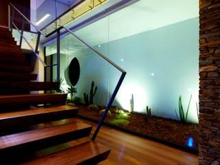 Augusta House Minimalist corridor, hallway & stairs by Risco Singular - Arquitectura Lda Minimalist