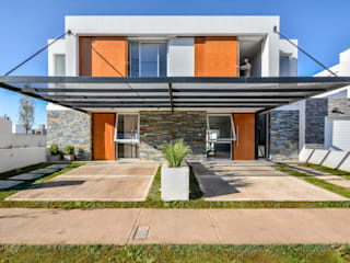 Modern Houses by Estudio A+3 Modern