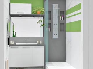Salle de bain Salle de bain moderne par HanaK Décoration Moderne