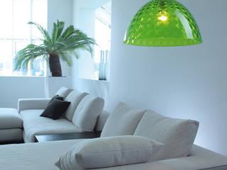 Pendelleuchte STELLA transparent grün:   von koziol »ideas for friends GmbH