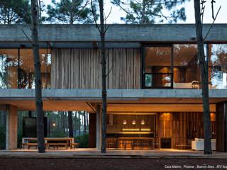 Casa Marino: Casas de estilo  por ATV Arquitectos