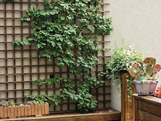 Jardines de estilo  por Studio Gorski Arquitetura