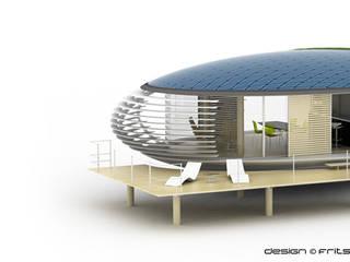 Chrysalide –  Eco-habitat:  de style  par FRITSCH-DURISOTTI