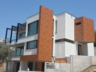 VİLLA GÖK Modern Evler guntacharman Modern