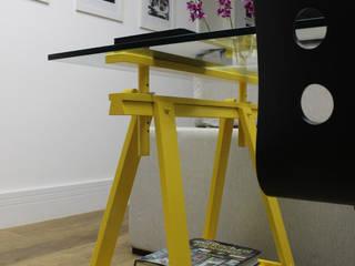 Ana Carolina Cardoso Arquitetura e Design Living roomSide tables & trays
