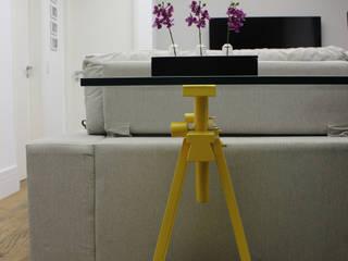 Ana Carolina Cardoso Arquitetura e Design Living roomTV stands & cabinets