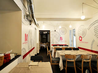 La tipografia è una pizza, progetto di Undesign: Gastronomia in stile  di yetmatilde
