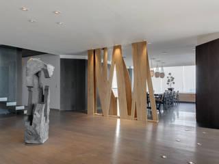 PH Diamante: Pasillos y recibidores de estilo  por ARCHETONIC / Jacobo Micha Mizrahi, Minimalista