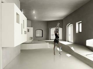 TS1 Spazi commerciali moderni di gianluca milesi architecture Moderno