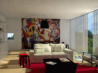บ้านและที่อยู่อาศัย โดย Santiago   Interior Design Studio , ผสมผสาน