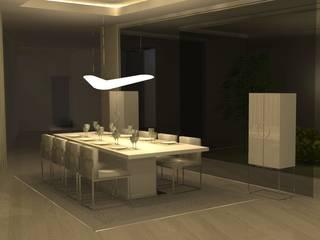 บ้านและที่อยู่อาศัย โดย Santiago   Interior Design Studio , โมเดิร์น