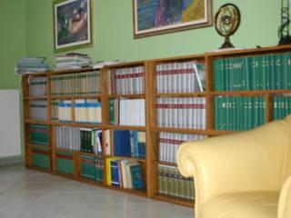 Studio D Studio moderno di SaAO Sforza Architecture Office - Laboratorio di Architettura e Design Moderno