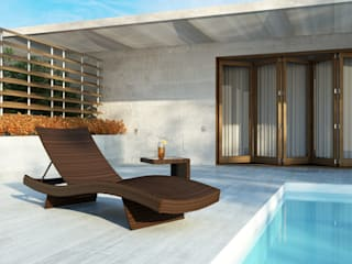 Mara Liege Modern Oltre-Garden Balkon, Veranda & TerrasseMöbel