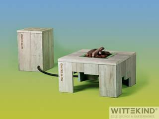 Feuertisch (groß & klein) von Wittekind Möbel UG (haftungsbeschränkt) Rustikal